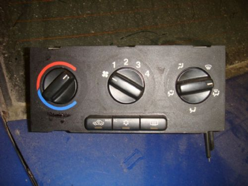 ZAFIRA A HEATER CONTROL UNIT WITH A/C